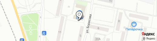 Блок на карте Сыктывкара