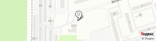 Отставник на карте Сыктывкара