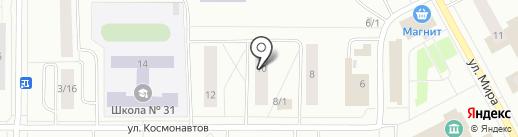 Курсы гражданской обороны по делам ГО и ЧС г. Сыктывкара на карте Сыктывкара