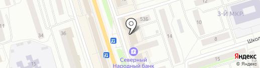 Росгосстрах на карте Сыктывкара