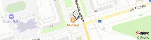 ГалантАл на карте Сыктывкара