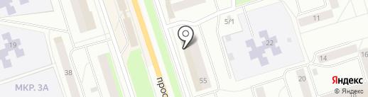 Магазин штор на карте Сыктывкара