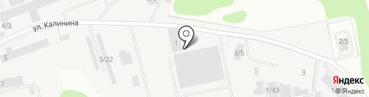 Комибуммонтаж, ЗАО на карте Сыктывкара