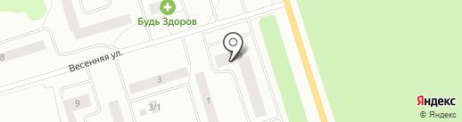 Эжвинский жилкомхоз на карте Сыктывкара