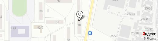 Библиотека им. И.А. Куратова на карте Сыктывкара