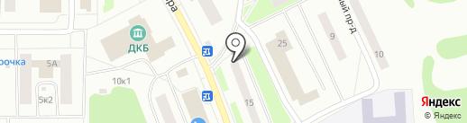 Суши Мастер на карте Сыктывкара