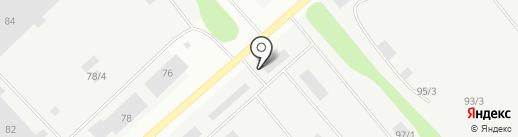 КВСМ на карте Сыктывкара