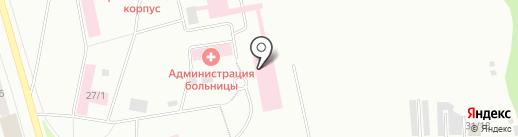 Городская больница Эжвинского района г. Сыктывкара на карте Сыктывкара