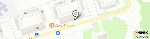 Магазин продовольственных товаров на карте Сыктывкара