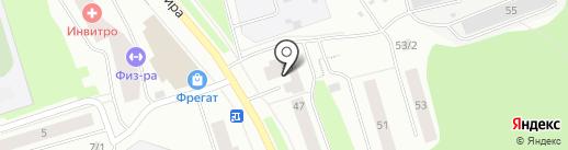 СеверЭнергоПром на карте Сыктывкара