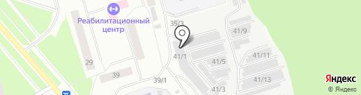 Автомастер на карте Сыктывкара