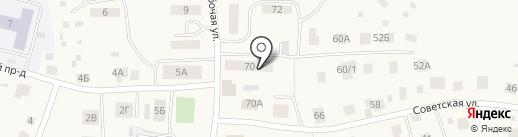 Фортуна на карте Выльгорта