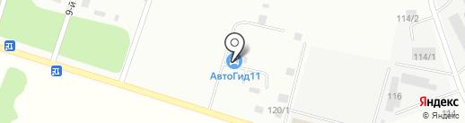 Бумеранг Авто на карте Сыктывкара