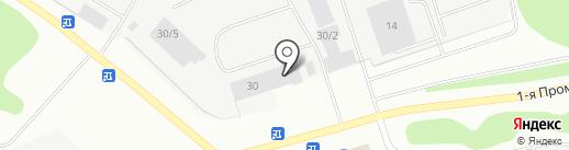 Техника для бизнеса Коми на карте Сыктывкара