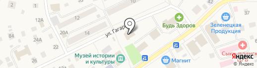 Ремонтная мастерская на карте Выльгорта