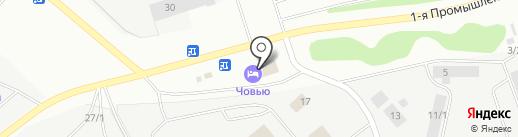 Вента на карте Сыктывкара