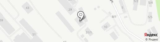 КОМИЭКОВТОР на карте Сыктывкара