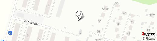 Инвестиционно-строительная компания на карте Сыктывкара