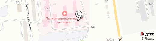 Республиканский Сыктывкарский психоневрологический интернат, ГБУ на карте Сыктывкара