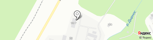 Мегаполис, ЗАО на карте Сыктывкара