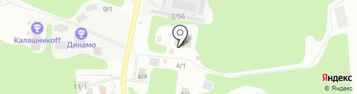 ДЮСШ №5 на карте Сыктывкара