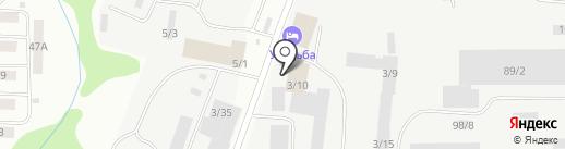 ВАСИ на карте Сыктывкара