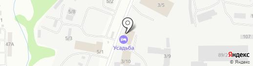 Усадьба на карте Сыктывкара