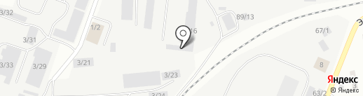 Служба по аренде спецтехники на карте Сыктывкара