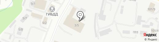 Автосервис на карте Сыктывкара