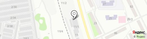 Роза на карте Сыктывкара
