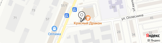 ГТА на карте Сыктывкара