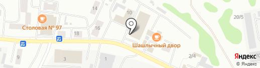 4×4 на карте Сыктывкара