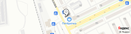 Бистро на карте Сыктывкара