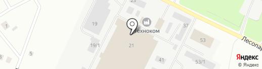 Ассорти на карте Сыктывкара