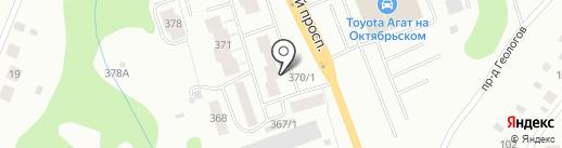 Компания автогрузоперевозок на карте Сыктывкара