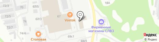 Оконная компания на карте Сыктывкара