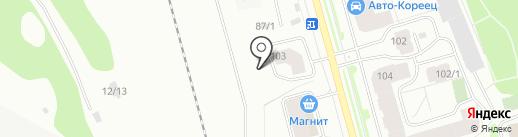 Фонд развития жилищного строительства Республики Коми на карте Сыктывкара