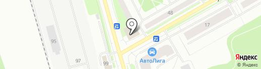 Центрофинанс Групп на карте Сыктывкара