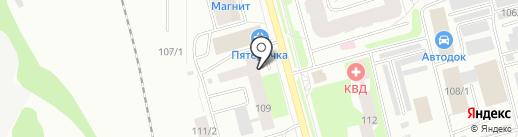 Фотомир-РК на карте Сыктывкара
