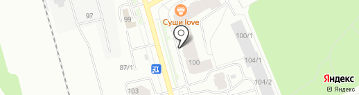 Liberty на карте Сыктывкара