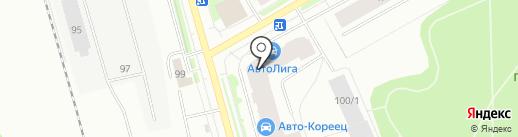 Торгово-монтажная компания на карте Сыктывкара