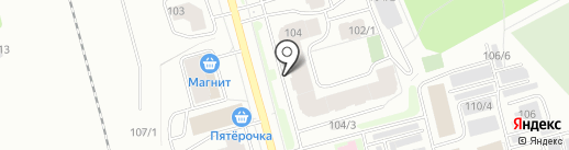 Феликс на карте Сыктывкара