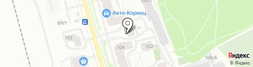 Промсервис-Уют на карте Сыктывкара