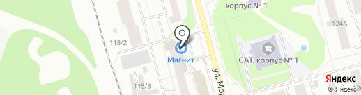 Закусочная на карте Сыктывкара
