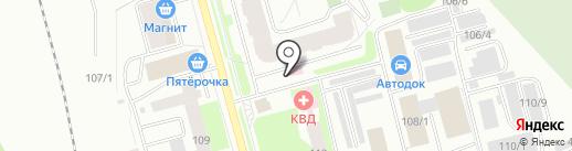 ПредПроцессинговая система на карте Сыктывкара