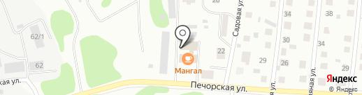 ТДК-ПЕТЕРБУРГ на карте Сыктывкара