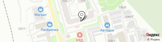 Tottori на карте Сыктывкара