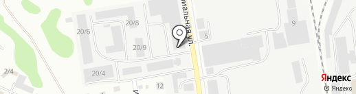 Дави на газ на карте Сыктывкара