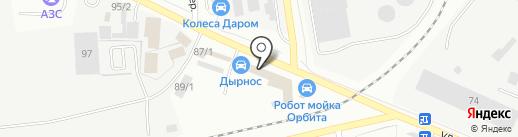 Магазин масла и смазки на карте Сыктывкара