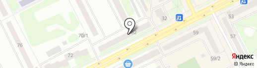 Anex tour на карте Сыктывкара